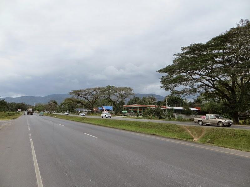 Красивый вид на дороге Таиланд