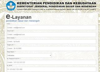 http://e-layanan.dikdasmen.kemdikbud.go.id/ Alamat Layanan Perizinan Siswa
