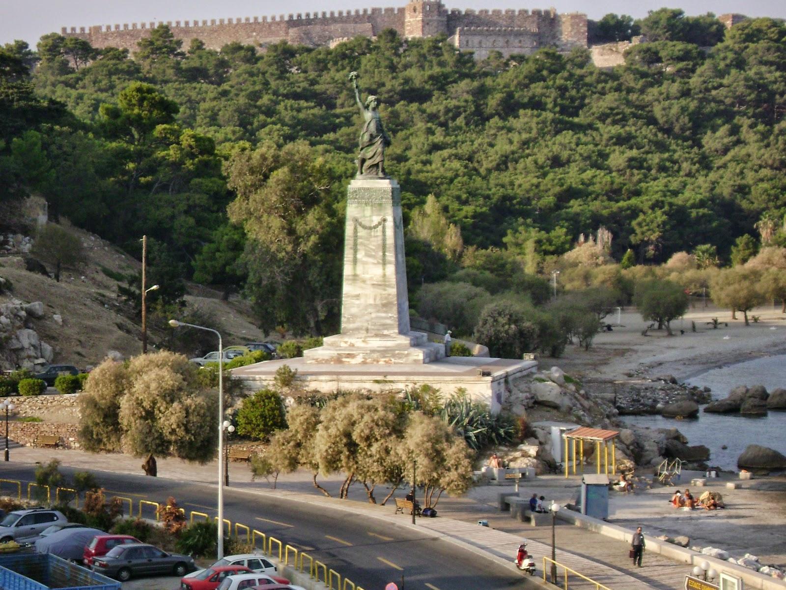 Georgios  Jakobides  Liberty'  statue C  Mytilini C  Greece  ()