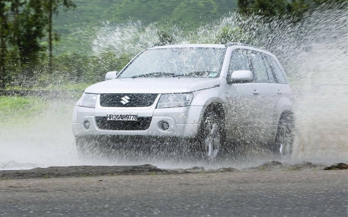Suzuki Grand Vitara Off Road Widescreen HD Wallpaper