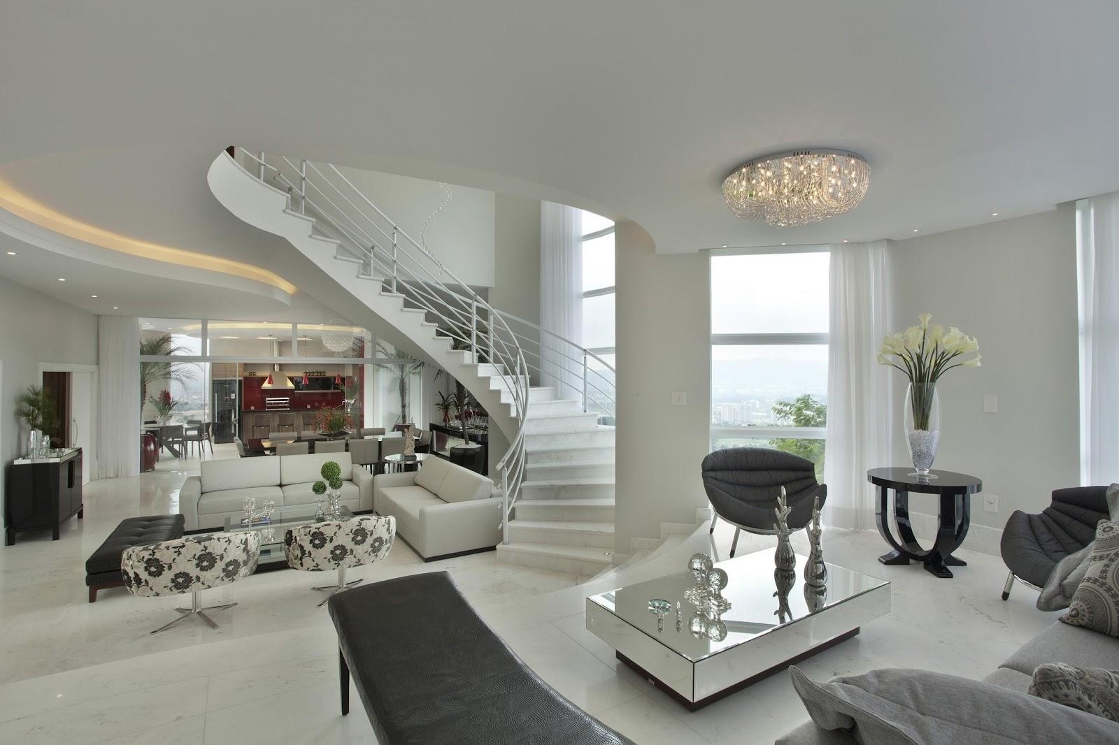 Viva Home Decor Construindo Minha Casa Clean Como Decorar Colunas No Meio