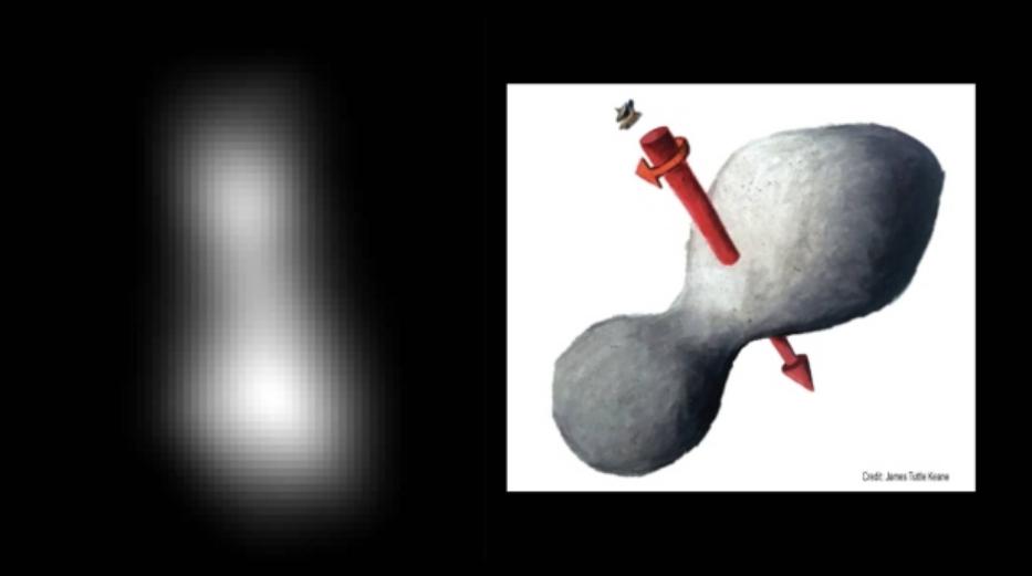 NASA: La sonda spaziale New Horizons ha fotograto Ultima Thule con successo.