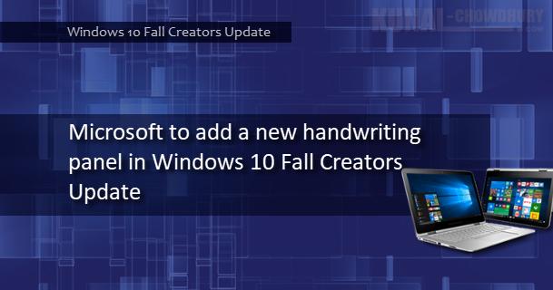 windows 10 how to add handwriting input