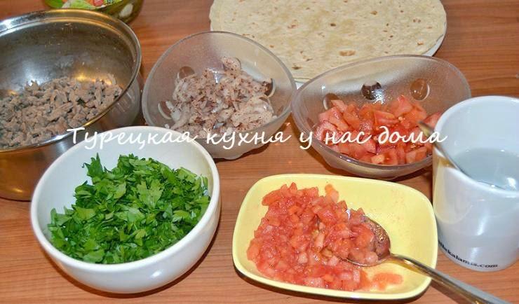 Тарецкие тантуни - жареное мясо с овощами