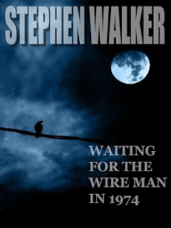 Stephen Walker, Waiting for the Wireman in 1974, 3rd alternative, short story, dark fantasy, moon, crow, amazon, kindle, download