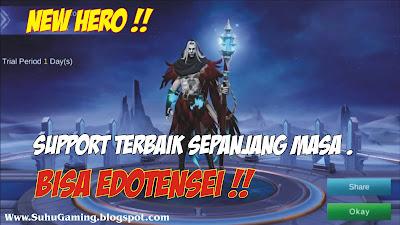 Hero Baru Mobile Legends Faramis (Support OP)