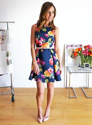 imagenes de Vestidos Floreados