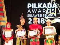 KPU PANGKEP RAIH DUA JUARA DALAM AJANG PILKADA AWARD SULSEL 2018
