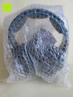Luftpolster: LIHAO Sades SA-738 Spiel Kopfhörer Stereo USB Gaming Headset mit Mikrofon Blau LED Leuchte mit Sades Retail Geschenk Verpackung