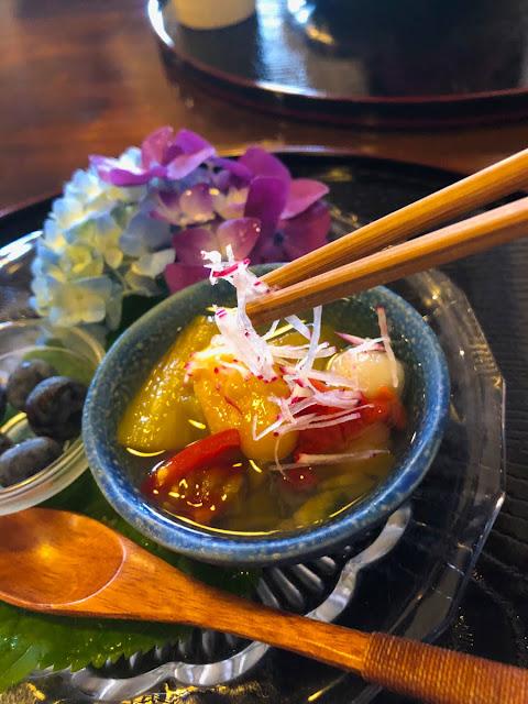 花浅葱の料理