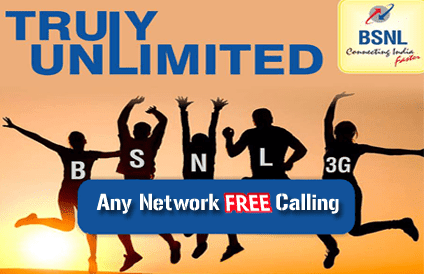 BSNL Unlimited Calling Offer