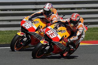 Marquez dan Pedrosa Kuasai Latihan Bebas FP3 & FP4  MotoGP Catalunya Spanyol 2017