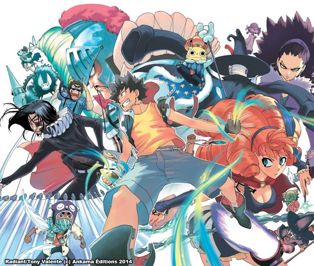 Download Anime 60fps Sub Indo: Download Anime Radiant Subtitle Indonesia