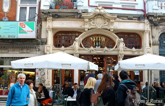 Café Majestic, rua Santa Catarina, Oporto