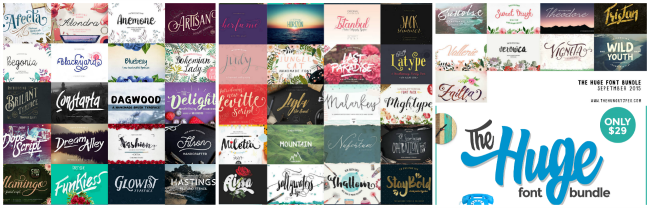 http://www.thehungryjpeg.com/the-huge-font-bundle?ref=27