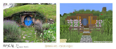 minecraft hobbiton great smials
