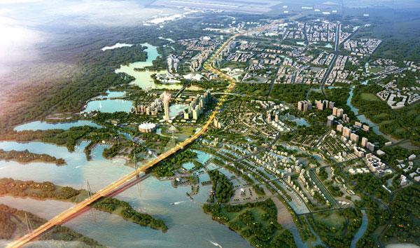 Quy hoạch thành phố thông minh hai bên tuyến cầu Nhật Tân - Nội Bài