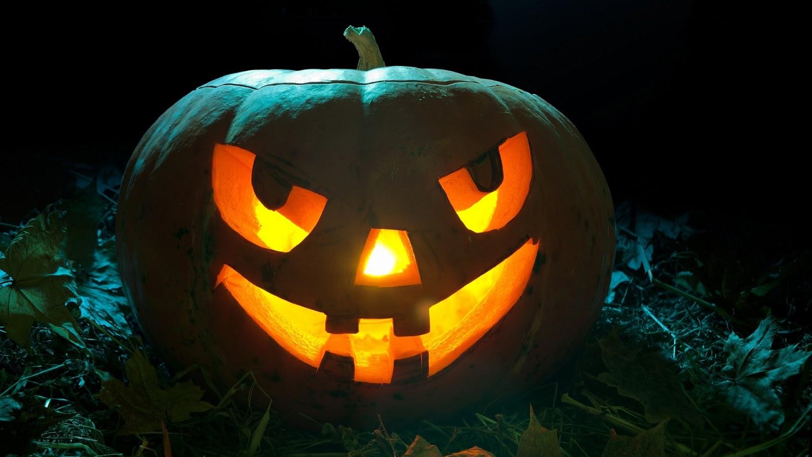 Design Home Game Online Halloween Pumpkin Mystery Wallpaper