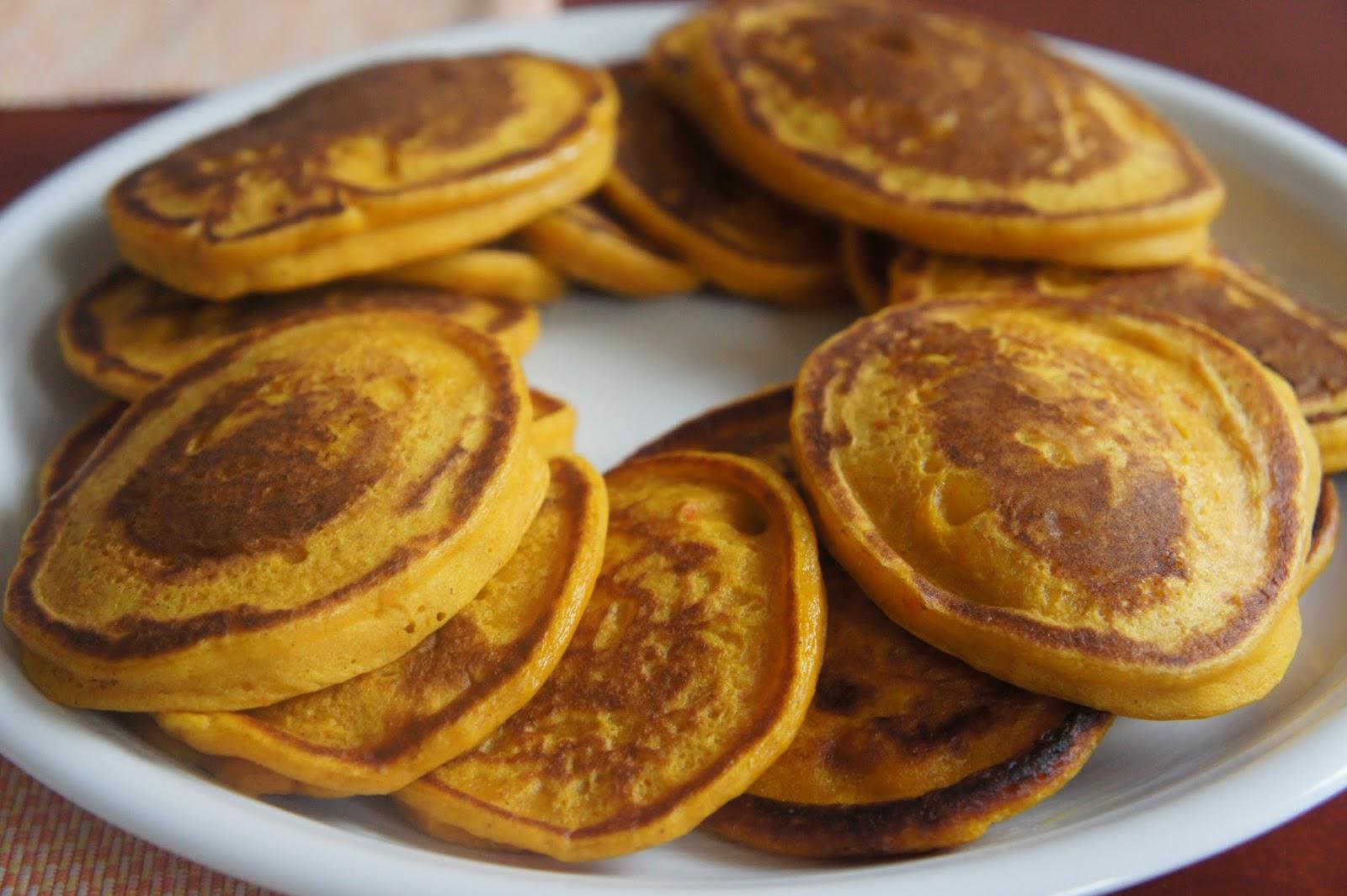 kürbis pfannkuchen herzhaft