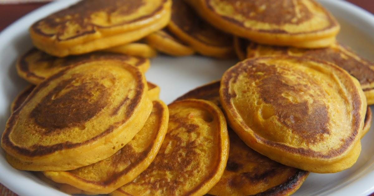 Pumpkin Pancakes With Cake Mix