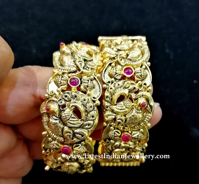 Pair of Nakshi Bangles