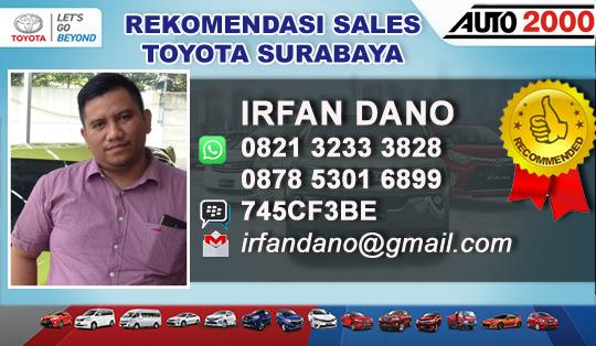 Rekomendasi Sales Toyota Kenjeran Surabaya