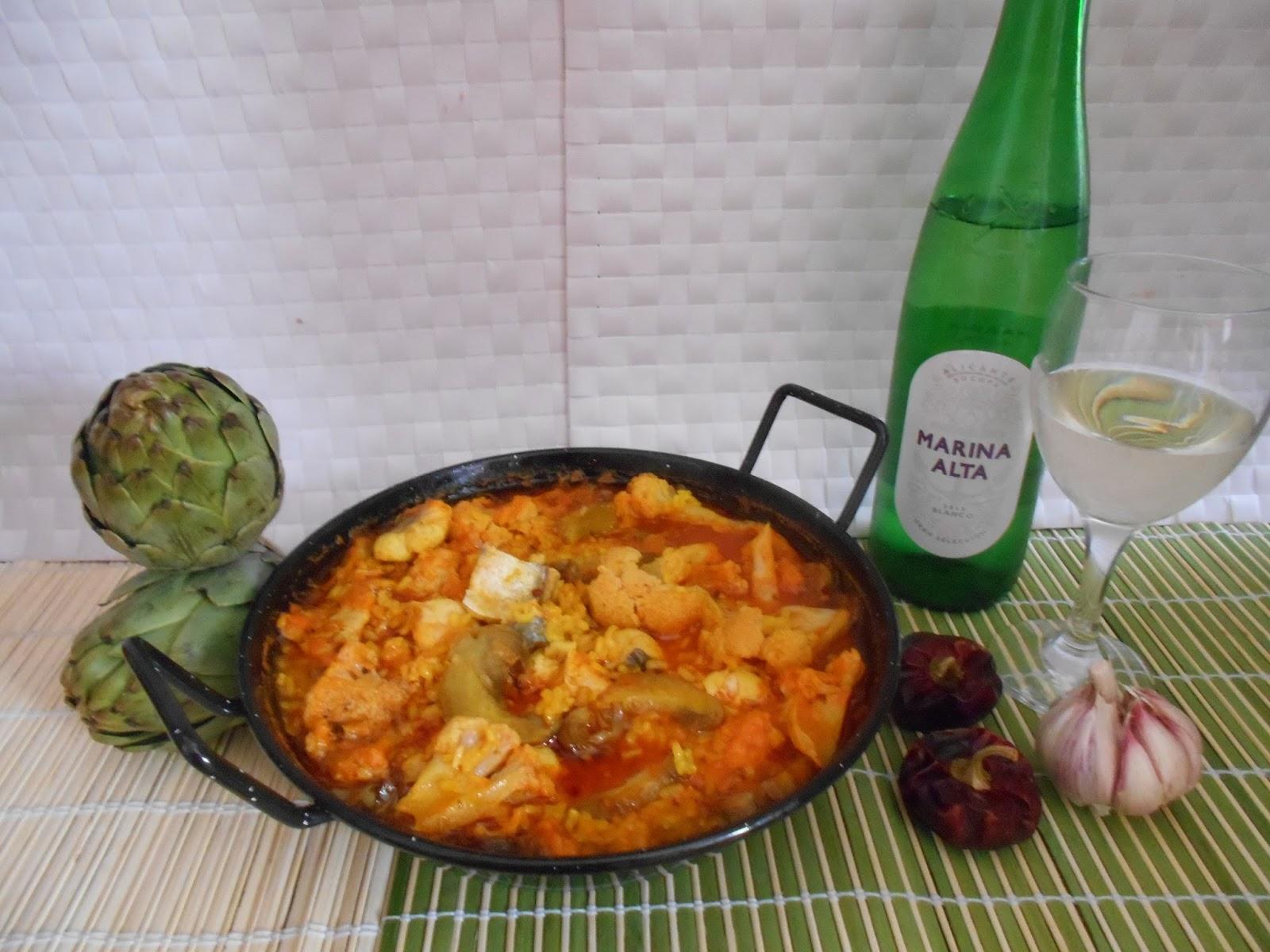 553 receta arroz caldoso de pescado con coliflor y - Arroz caldoso con costillas y alcachofas ...