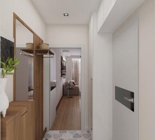Desain Rumah Ukuran 3x4 Meter Persegi 4 Kamar Tidur Sederhana Modern