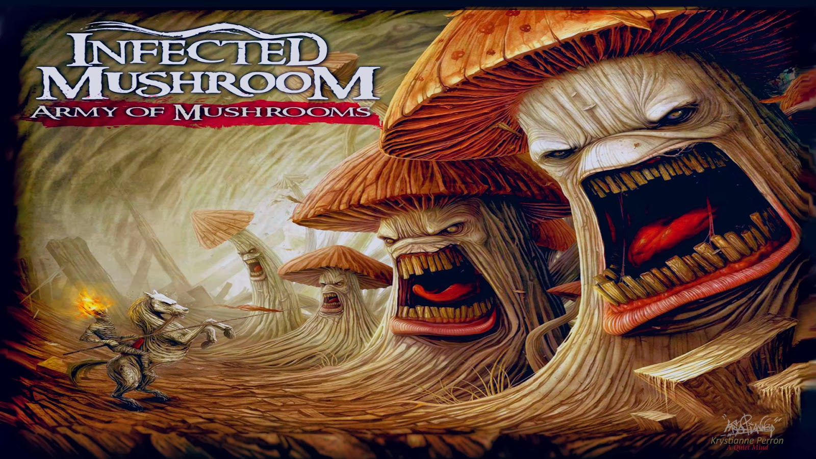 disco infected mushroom army of mushrooms