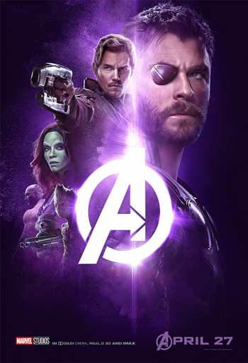 Avengers Infinity War 2018 ORG Hindi Dual Audio 720p BluRay 1.1GB