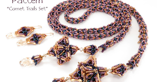 Bead Origami: New Pattern and Kits: Comet Trails Set