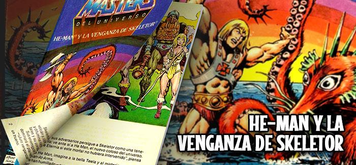 Minicómic He-Man y la venganza de Skeletor (Mattel, 1982)