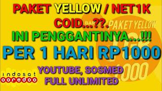 Bagi anda para pelanggan Indosat Ooredoo Cara Beli Paket Yellow Indosat, Paket Internet Super Murah