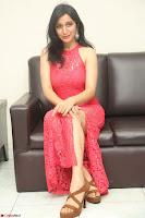 Sakshi Kakkar in Red Legsplit Sleeveless Gown at Dare movie Press meet ~  Exclusive 077.JPG