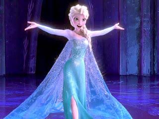 Gambar Elsa Frozen gratis