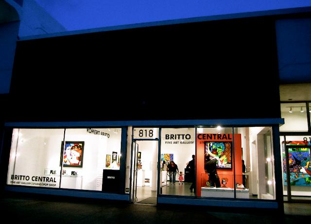 Onde fica a galeria de Romero Britto em Miami