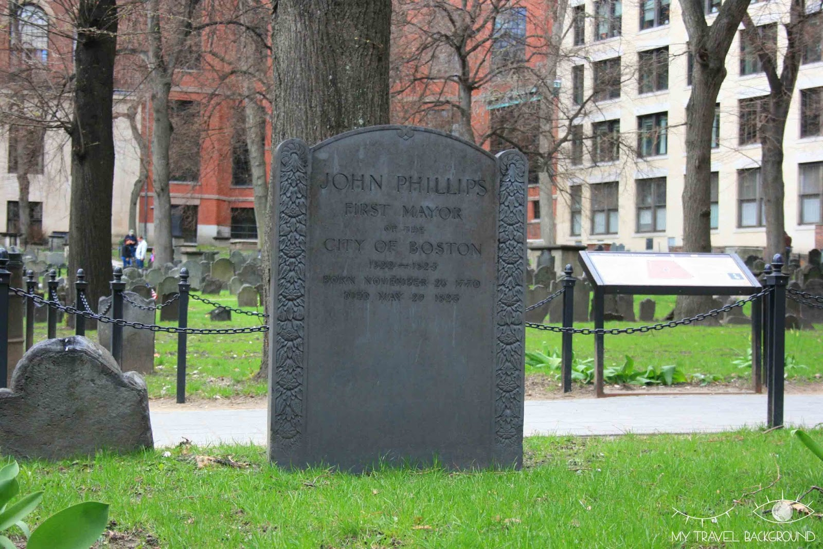 My Travel Background : Granary Burying Ground