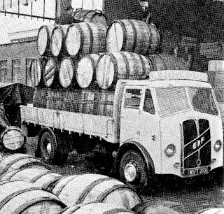 Pottery Casks packed with ware on their way to market