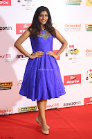 Eesha in Cute Blue Sleevelss Short Frock at Mirchi Music Awards South 2017 ~  Exclusive Celebrities Galleries 021.JPG