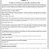 Various legal vacancy in Hamdard Company - last date 25/04/2019