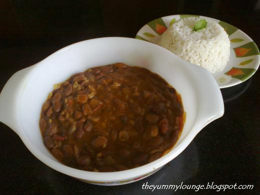 North Indian Restaurant Style Punjabi Rajma Masala Recipe