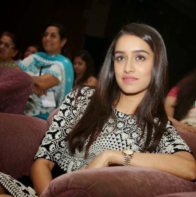 Shraddha Kapoor stills in YFLO women achiever awards