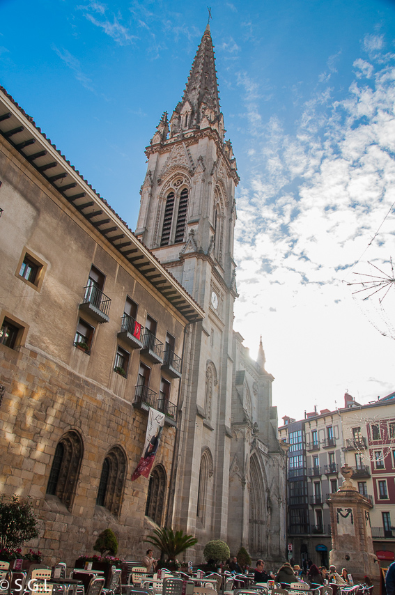 Catedral de santiago. Segunda parroquia de bilbao