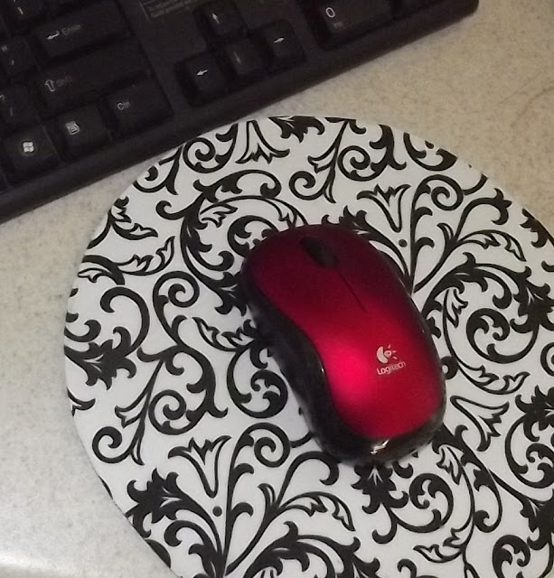 Diy Mouse Pad: My Honey Bunch: Pretty Mouse Pad