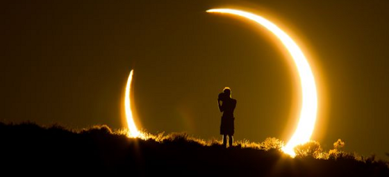 Υβριδική έκλειψη Ηλίου το μεσημέρι της Κυριακής: Πώς έβλεπαν οι αρχαίοι λαοί το φαινόμενο