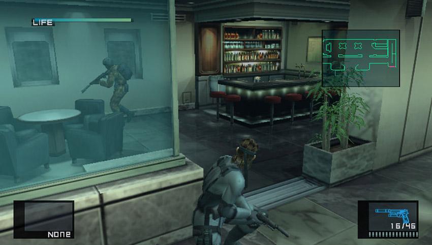 Metal Gear Solid HUD