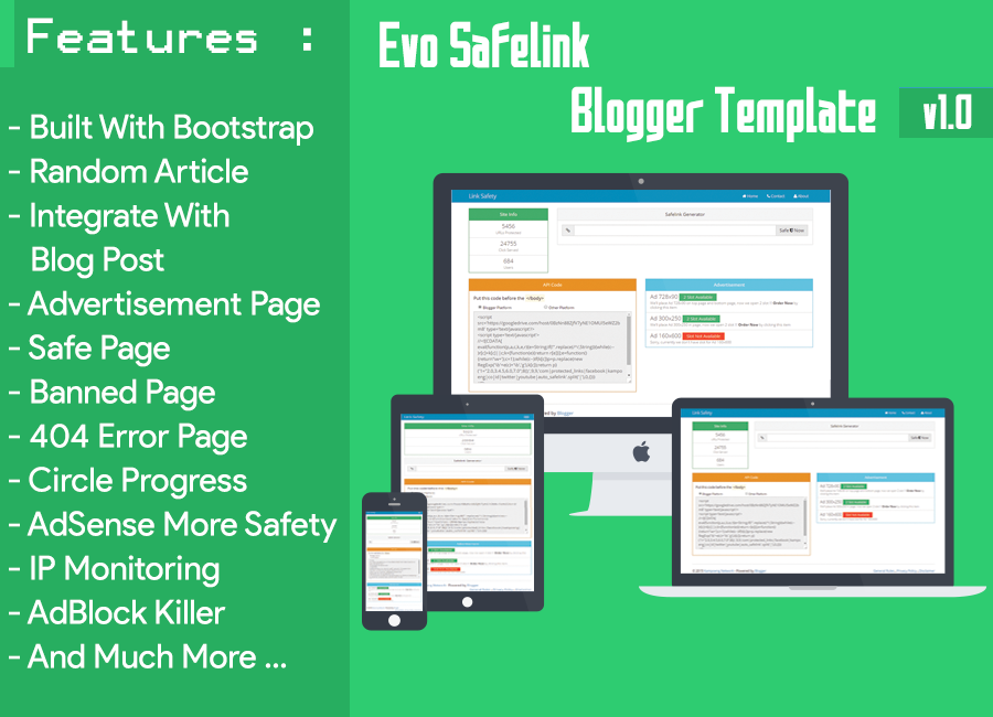vo Safelinks lam  Blogger Template