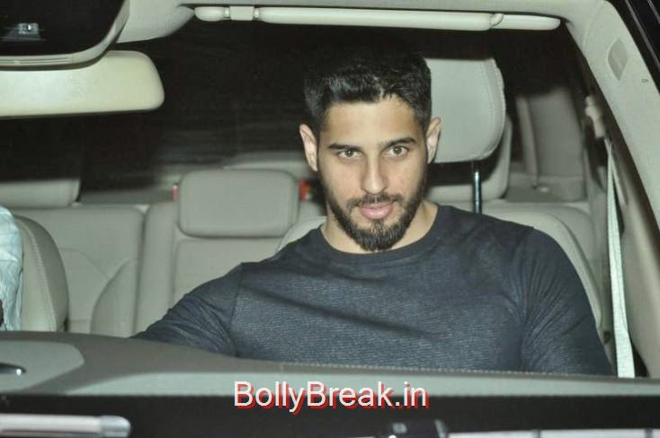 Siddharth Malhotra, Kiran Rao, Mini Mathur Sidharth Malhotra and Gari Khan at Ranbir Kapoor's Party