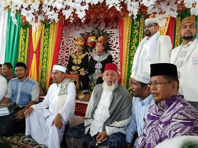Di Aceh UAS Disambut Laksana Raja