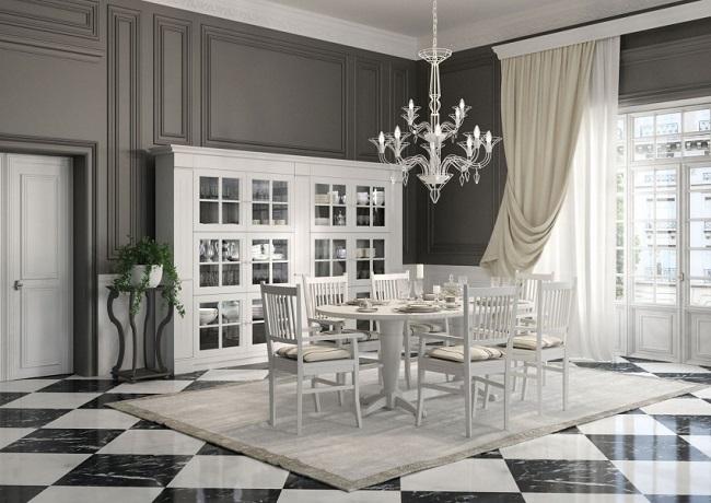 Desain Interior Rumah Klasik